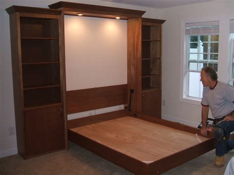 murphy bed installation installation raleigh murphy beds by the master s craftsman
