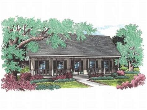 Homes With Porches Southern House Plans The House Plan Shop