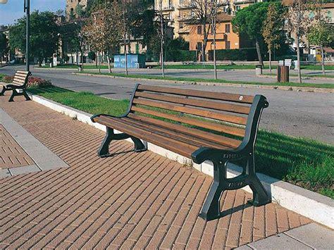 panchina roma 102 panchina roma per parchi e giardini da marinelli