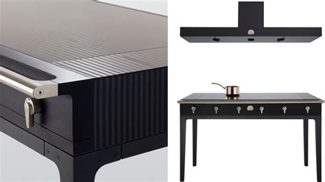 induction cooking table this beautiful induction cooktop table makes slaving a stove a pleasure gizmodo india