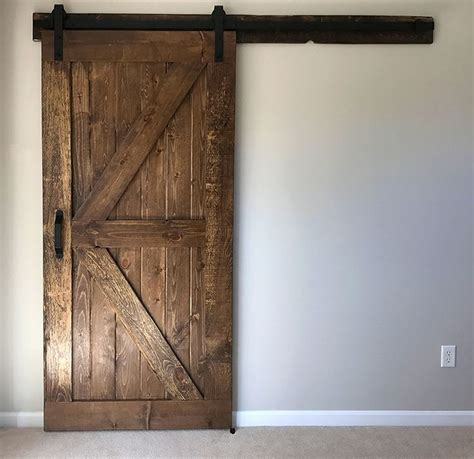 installing a barn door best 25 diy sliding barn door ideas on diy