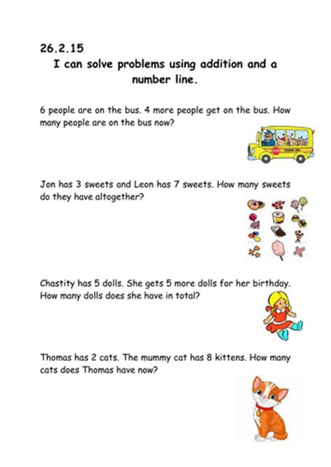 year 1 addition word problems by mazeriebee teaching