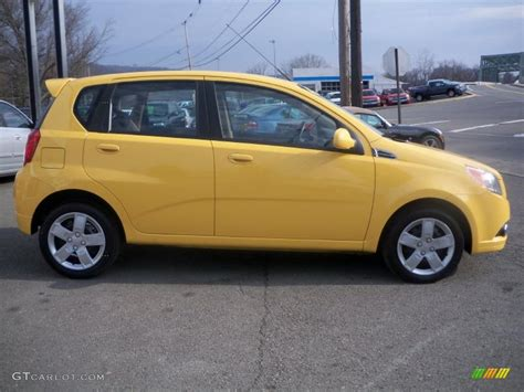 summer yellow 2010 chevrolet aveo aveo5 lt exterior photo 40747821 gtcarlot