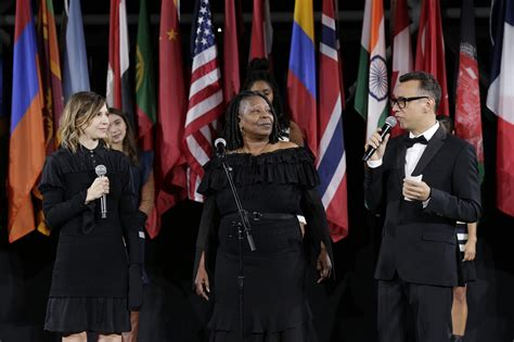 American Idol Last In New York City Goldberg by Whoopi Goldberg Steals The Show At Opening Ceremony
