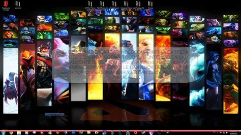 themes for windows 7 dota dota 2 full theme pack for windows 7 youtube