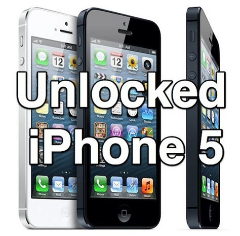 iphone unlock how to unlock iphone 5 for free