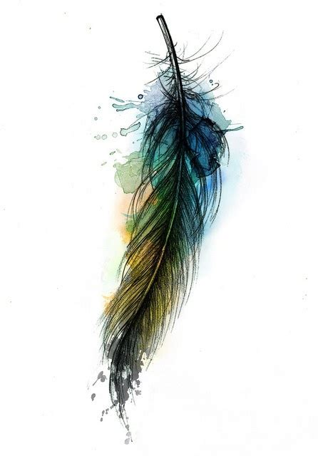 color feather tattoos on feather tattoos tattoos and and peacock feather