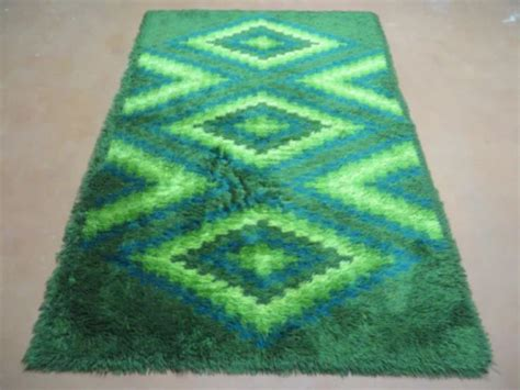 Retro Shag Rug by 69 Curated Vintage Rya Shag Rugs Ideas By Concreteswan