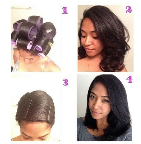 hairstyles for straight hair without heat how to straighten your natural hair without heat tools