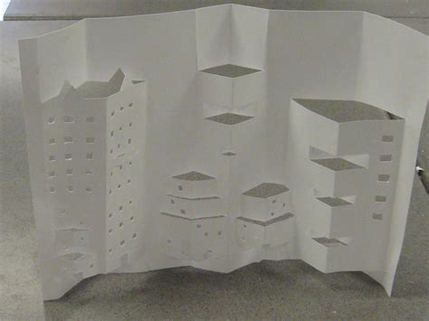 How To Make Things Pop Out On Paper - make it artwork building out of paper