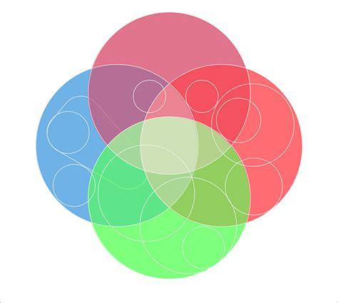 4 circle venn diagram 4 circle venn diagram templates 9 free word pdf format