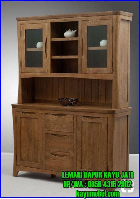 Jual Lemari Dapur Jati produsen lemari kayu dapur harga lemari dapur kayu jati