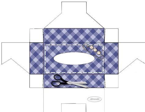 Tuto Boite Mouchoir Tissu by Boites A Mouchoirs