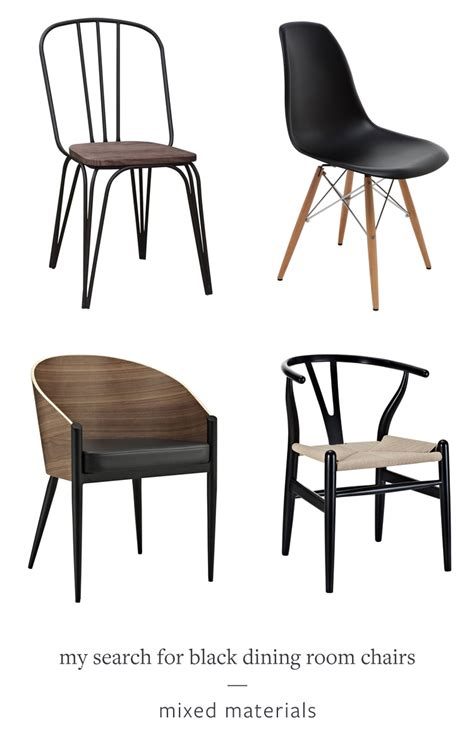 dining room chairs black jojotastic my search for the perfect black dining room