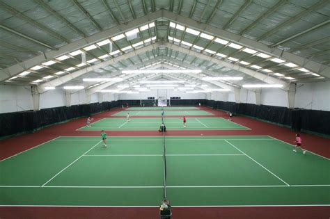 indoor tennis courts four indoor tennis courts included 36 60 blended court lines for 10 under tennis yelp