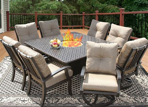 Patio Furniture Dining Sets Furniture Contemporary Teak And Metal Patio Dining Table Set Adorable Description About Modern