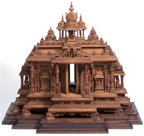 hindu temple india hindu temple model including details from