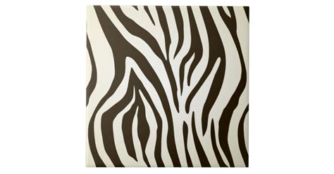 zebra pattern tiles zebra skin print stripes pattern ceramic tile zazzle