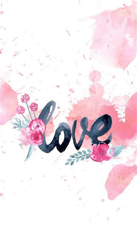 Love Wallpaper On Pinterest | dlolleys help free iphone 5s love watercolor wallpapers