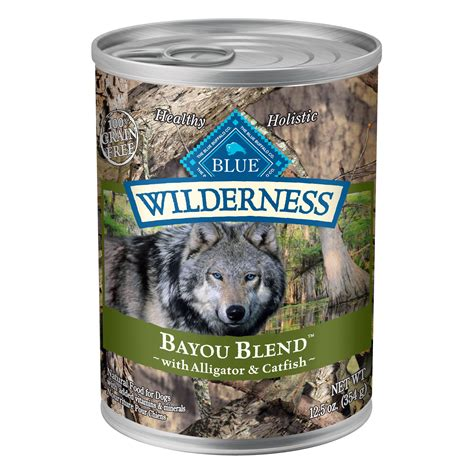 blue buffalo canned puppy food blue buffalo wilderness bayou blend canned food petco