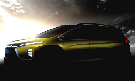 mitsubishi mpv mitsubishi teases mpv concept heading to indonesian auto
