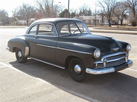 all american classic cars 1950 chevrolet deluxe styleline