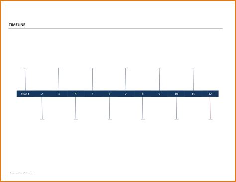 timeline templates for word blank timeline template 40 free psd word pot pdf documents