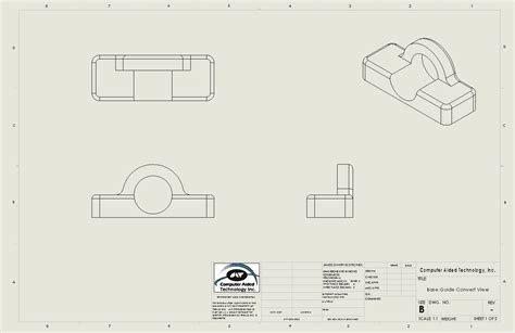 solidworks standard drawing template