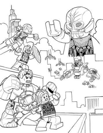 Kids-n-fun.de | 15 Ausmalbilder von Lego Marvel Avengers