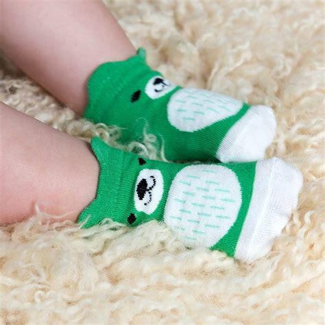Baby Set Of 4 Socks set of four pairs of newborn baby socks by