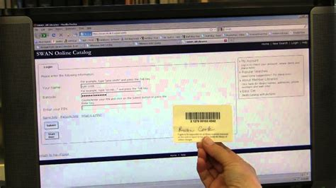 how to make library card how to create a pin for your library card