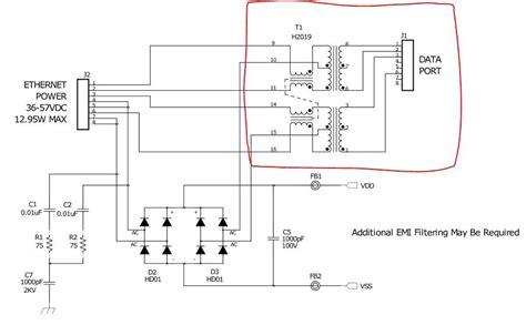 poe circuit diagram poe power ether circuit diagram wiring diagram