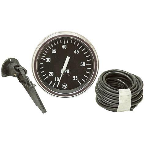 boat speedometer kit 55 mph marine speedometer kit automotive gauges gauges
