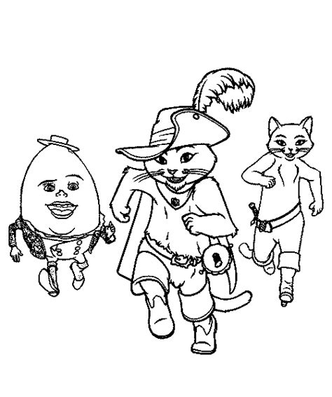 kitty softpaws coloring pages puss in boots coloring pages