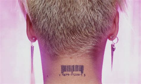pinks barcode tattoo meaning pink singer tattoos and their meanings