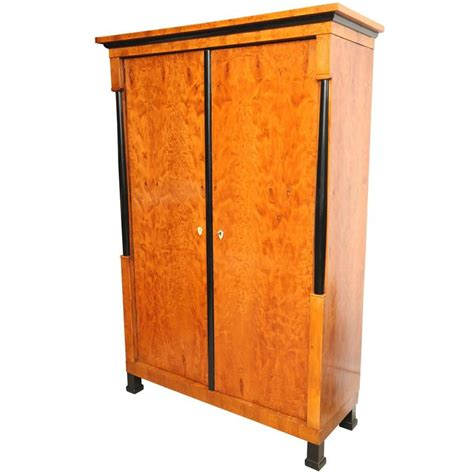 biedermeier armoire superb 19th century satinwood biedermeier armoire for sale