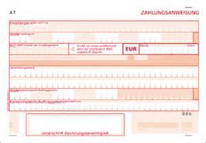 Word Vorlage Sepa Zahlschein Help Gv At Die Zahlungsanweisung 220 Berweisung Mit Iban Und Bic