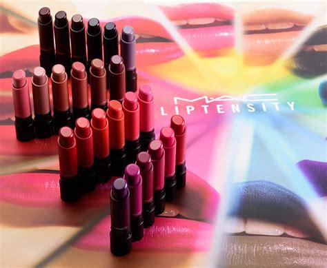 Mac Liptensity sneak peek mac liptensity lipstick photos swatches