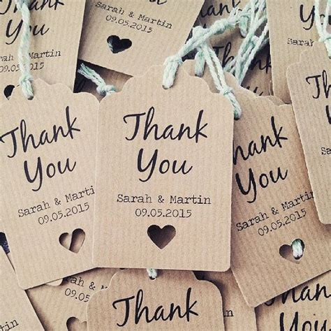 Diy Labels For Wedding Favors 16 thank you wedding favour tags thank you wedding