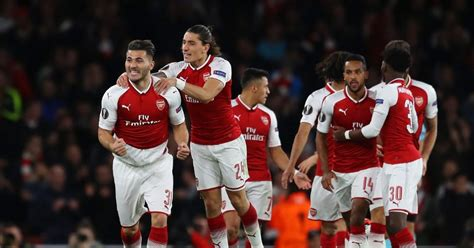 arsenal uk arsenal 3 1 cologne player ratings as gunners win europa