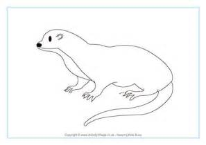 otter coloring pages preschool related keywords suggestions for otter print out