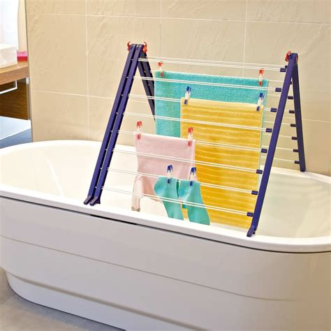 bathtub drying rack leifheit bathtub drying rack pegasus bath 190 81702