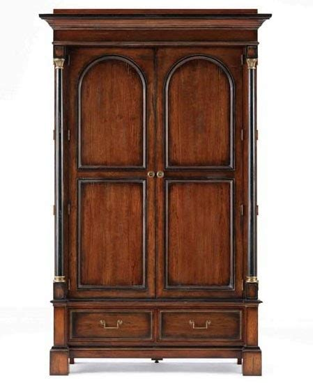 hickory white armoire hw 735 65 hickory white continental classics armoire for