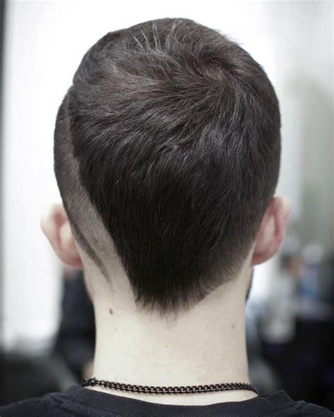 latest v shape hair trend asia new men s hair trends neckline hair design