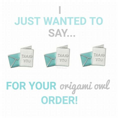 order origami owl 17 best images about o2 thank you s on