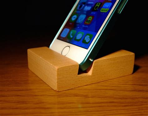Handmade Mobile Phone - handmade phone cradle wood mobile phone holder for iphone