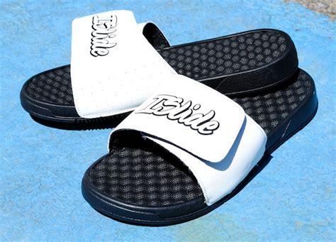 custom slide sandals introducing islide premium custom athletic sandals kicks