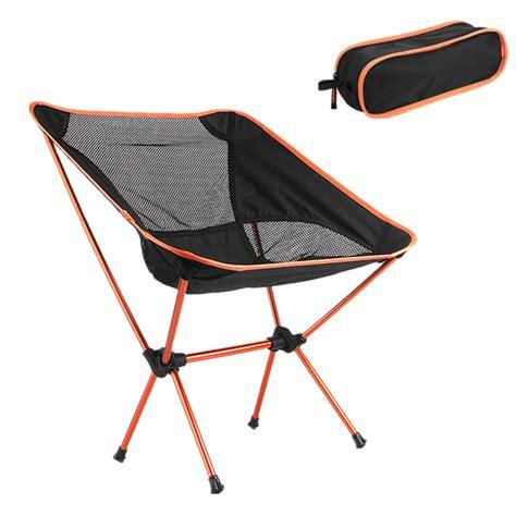 portable folding chair outdoor sport cing picnic bbq portable aluminum folding