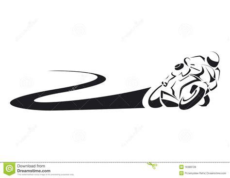 sportbike na trilha fotos de stock royalty free imagem