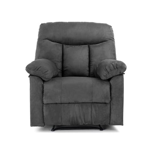comfortable recliner faux suede sofa hereo sofa